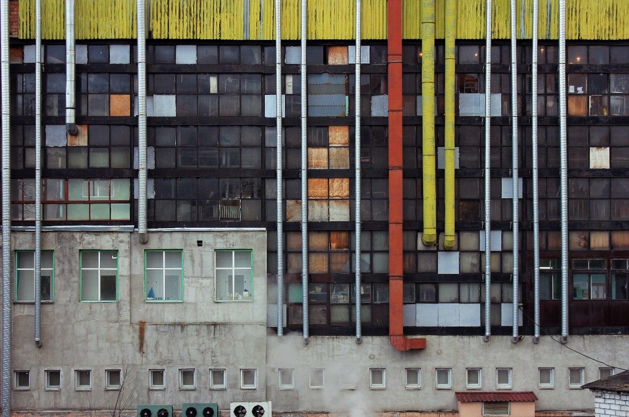 Photographie urbaine biélorusse géométrie de minsk